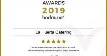 ¡Bodas.net vuelve a concedernos el Wedding Awards 2019!